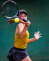 Hilversum, Netherlands, Juli 29, 2019, Tulip Tennis center, National Junior Tennis Championships 12 and 14 years, NJK, Rose Marie Nijkamp (NED)<br /> Photo: Tennisimages/Henk Koster