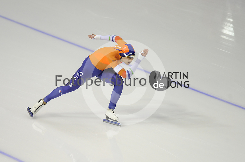 SPEEDSKATING: CALGARY: Olympic Oval, 25-02-2017, ISU World Sprint Championships, 1000m Men, Kai Verbij (NED), ©photo Martin de Jong