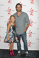 LOS ANGELES - AUG 19:  Alyvia Alyn Lind, Joshua Morrow at the Young and Restless Fan Event 2017 at the Marriott Burbank Convention Center on August 19, 2017 in Burbank, CA