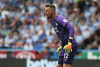 Huddersfield Town's goalkeeper Ben Hamer <br /> <br /> Photographer Stephen White/CameraSport<br /> <br /> The Premier League - Huddersfield Town v Chelsea - Saturday August 11th 2018 - The John Smith&rsquo;s Stadium<br />  - Huddersfield<br /> <br /> World Copyright &copy; 2018 CameraSport. All rights reserved. 43 Linden Ave. Countesthorpe. Leicester. England. LE8 5PG - Tel: +44 (0) 116 277 4147 - admin@camerasport.com - www.camerasport.com