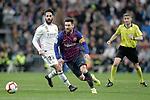 Real Madrid CF's Isco Alarcon and FC Barcelona's Luis Suarez during La Liga match. March 02,2019. (ALTERPHOTOS/Alconada)