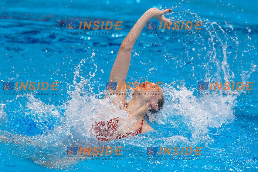 Natalia ISHCHENKO RUS Russia Gold Medal <br /> Solo Free Final <br /> London, Queen Elizabeth II Olympic Park Pool <br /> LEN 2016 European Aquatics Elite Championships <br /> Synchronized Swimming <br /> Day 02 10-05-2016<br /> Photo Andrea Staccioli/Deepbluemedia/Insidefoto
