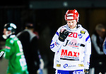Stockholm 2015-01-16 Bandy Elitserien Hammarby IF - IFK Kung&auml;lv :  <br /> Kung&auml;lvs Tobias Backman deppar under matchen mellan Hammarby IF och IFK Kung&auml;lv <br /> (Foto: Kenta J&ouml;nsson) Nyckelord:  Elitserien Bandy Zinkensdamms IP Zinkensdamm Zinken Hammarby Bajen HIF IFK Kung&auml;lv depp besviken besvikelse sorg ledsen deppig nedst&auml;md uppgiven sad disappointment disappointed dejected