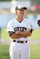 July 28th 2007:  Mike Roberts during the Cape Cod League All-Star Game at Spillane Field in Wareham, MA.  Photo by Mike Janes/Four Seam Images