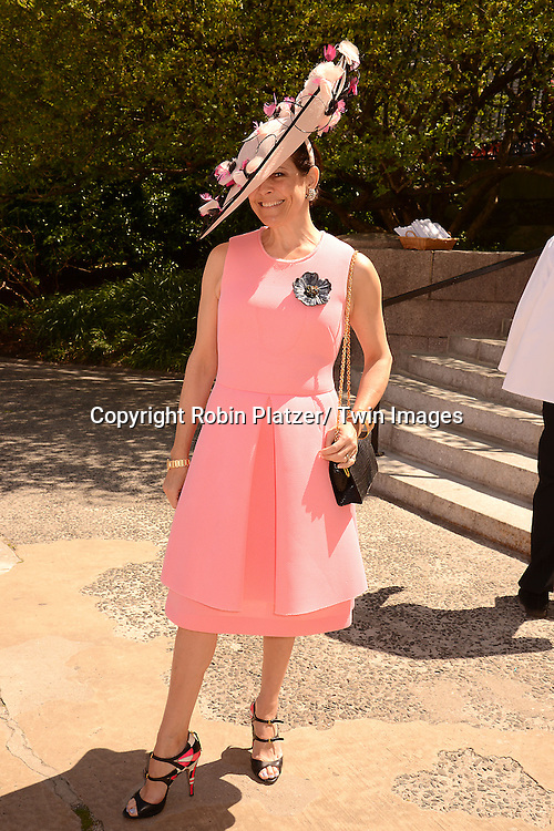 Alexandra Lebenthal attends the 32nd Annual Frederick Law Olmsted Awards Hat Luncheon given by The Central Park Conservancy on May 7,2014 in Central Park in New York City, NY USA.