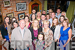 3-OH BIRTHDAY: Sinead Coffey, Ballymullen,Tralee (front centre)  celebrated her 30th birthday in Roundy's bar, Tralee, with family and friends on Sunday night last.
