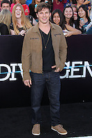 "WESTWOOD, LOS ANGELES, CA, USA - MARCH 18: Matt Lanter at the World Premiere Of Summit Entertainment's ""Divergent"" held at the Regency Bruin Theatre on March 18, 2014 in Westwood, Los Angeles, California, United States. (Photo by Xavier Collin/Celebrity Monitor)"