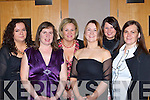 Sandra Burns, Edel Keane, Denise O'Sullivan, Sinead Lavin and Pamela O'Sullivan from the Department of Justice, Killarney at their Christmas party in the Malton hotel, Killarney on Friday night   Copyright Kerry's Eye 2008