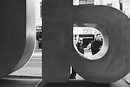 Image Ref: M105<br /> Location: Flinder's St, Melbourne<br /> Date: 8th June 2014