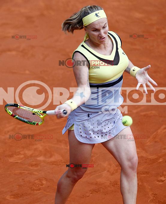 Svetlana Kuznetsova, Russia, during Madrid Open Tennis 2017 match. May 8, 2017.(ALTERPHOTOS/Acero) /NortePhoto.com