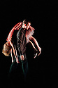"""London, UK. 11/10/2011. Rambert Dance presents a season of new choreography at The Place. Picture shows: Jonathan Goddard and Gemma Nixon in """"Fitcher's Bird"""" which they jointly choreographed."""
