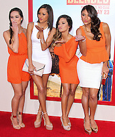 HOLLYWOOD, LOS ANGELES, CA, USA - MAY 21: Francesca Ruffino, Marissa Raisor, Casey Luckey, Janet Layug at the Los Angeles Premiere Of Warner Bros. Pictures' 'Blended' held at the TCL Chinese Theatre on May 21, 2014 in Hollywood, Los Angeles, California, United States. (Photo by Xavier Collin/Celebrity Monitor)