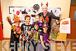 SPOOKY FUN: Children and adults in Knockanure are in for a treat on Sunday 28th of October with a Halloween party for the whole community. Pictured were: Keira Large, Reece Benham, Ethan Benham, Megan Large, Maggie Large and Aisling Doody.