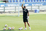 Getafe's goalkeeping coach Javier Barbero during training session. August 3,2020.(ALTERPHOTOS/Acero)