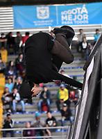 BOGOTA - COLOMBIA - 13 - 08 - 2017: Patrick Villon, Skater de Peru, durante competencia en el Primer Campeonato Panamericano de Skateboarding, que se realiza en el Palacio de los Deportes en la Ciudad de Bogota. / Patrick Villon, Skater from Peru, during a competitions in the First Pan American Championship of Skateboarding, that takes place in the Palace of Sports in the City of Bogota. Photo: VizzorImage / Luis Ramirez / Staff.
