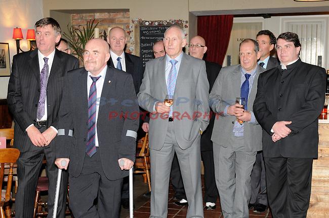 Brains Long Service Awards at the Ty Mawr Pub Lisvane 29th November 2011.