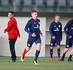 19.3.2018: Scotland u21 training:<br /> Greg Docherty