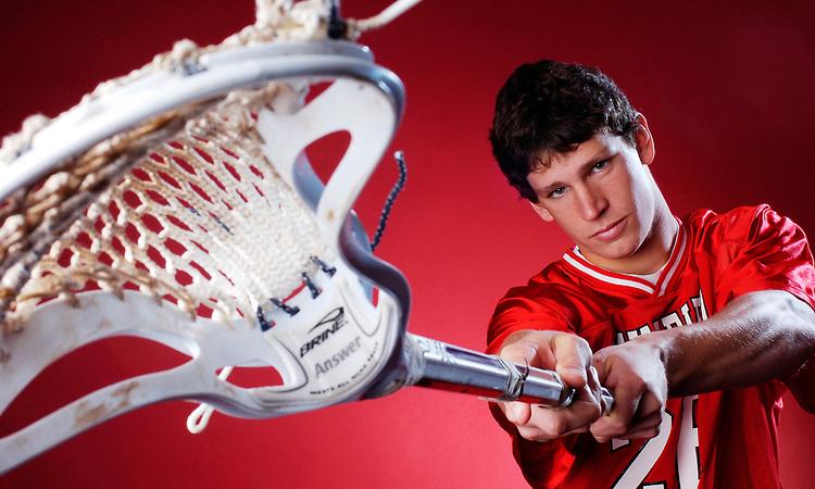 Wakefield School Athlete of the Year Ross Osborn - photographed in Warrenton, VA