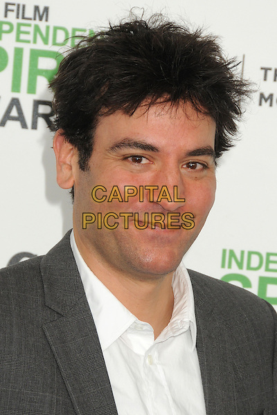 1 March 2014 - Santa Monica, California - Josh Radnor. 2014 Film Independent Spirit Awards - Arrivals held at Santa Monica Beach. <br /> CAP/ADM/BP<br /> &copy;Byron Purvis/AdMedia/Capital Pictures