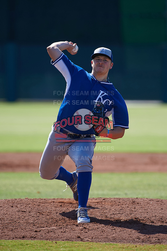 Kansas City Royals pitcher Nolan Watson (36) during an Instructional League game against the San Francisco Giants on October 22, 2015 at Giants Baseball Complex in Scottsdale, Arizona.  (Mike Janes/Four Seam Images)