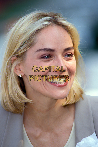 SHARON STONE.Ref:026.headshot portrait.www.capitalpictures.com.sales@capitalpictures.com.©Capital Pictures.