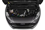 Car Stock 2019 Ford Tourneo-Connect Trend 5 Door Mini Mpv Engine  high angle detail view