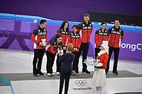 OLYMPIC GAMES: PYEONGCHANG: 12-02-2018, Gangneung Ice Arena, Figure Skating, Team Event Ice Dance Free Dance, Team Canada Olympic Champion, ©photo Martin de Jong