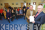 ?75,000 has been allocated through lotto funding for the North Kerry Day Care Centre, Listowel towards the build of a new dedicated centre. Minister Jimmy Deenihan was on hand on Friday morning to hand over ?75,000 which has been allocated through Lotto funding for the North Kerry Day Care Centre, Listowel towards the build of a new dedicated centre. Minister Jimmy Deenihan was on hand on Friday morning to hand over ?75,000 in Lotto funds to Tom Pierse Chairman of the North Kerry Day Care Centre, Listowel towards the build of a new dedicated centre.