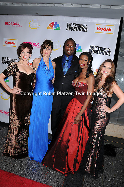 "Marilu Henner, Carol Alt, Lennox Lewis,  Omarosa and Nely Galan.at ""The Celebrity Apprentice"" after party for the March 27th, 2008 Finale sponsored by Vera Wang by Serta, Redbook and Kodak at The Rock Center Cafe in Rockefeller Center in New York City...Robin Platzer, Twin Images"