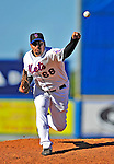 7 March 2009: New York Mets' pitcher Heriberto Ruelas on the mound during a Spring Training game against the Washington Nationals at Tradition Field in Port St. Lucie, Florida. The Nationals defeated the Mets 7-5 in the Grapefruit League matchup. Mandatory Photo Credit: Ed Wolfstein Photo