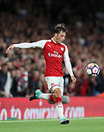 Arsenal's Mesut Ozil in action during the premier league match at the Emirates Stadium, London. Picture date 11th August 2017. Picture credit should read: David Klein/Sportimage