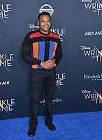 Anthony Anderson at the premiere for &quot;A Wrinkle in Time&quot; at the El Capitan Theatre, Los Angeles, USA 26 Feb. 2018<br /> Picture: Paul Smith/Featureflash/SilverHub 0208 004 5359 sales@silverhubmedia.com