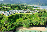 ANINI , AERIALS, KAUAI, HOMEAWAY, VRBO, VACATION RENTAL, PRINCEVILLE, HANALEI, SEA LODGE, PUU POA