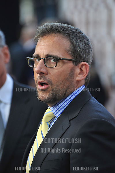 "Steve Carell at the world premiere of his movie ""Seeking a Friend for the End of the World"" at Regal Cinemas LA Live..June 19, 2012  Los Angeles, CA.Picture: Paul Smith / Featureflash"