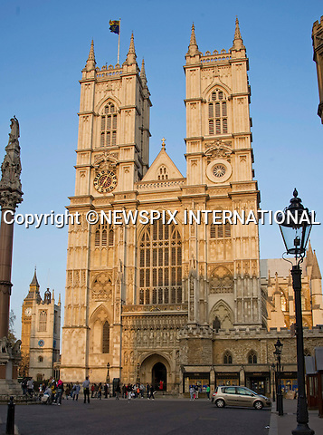 """PRINCE WILLIAM & KATE MIDDLETON Pre-Wedding- Westminster Abbey._23/04/2011.Mandatory Photo Credit: ©Dias/NEWSPIX INTERNATIONAL..**ALL FEES PAYABLE TO: """"NEWSPIX INTERNATIONAL""""**..PHOTO CREDIT MANDATORY!!: NEWSPIX INTERNATIONAL(Failure to credit will incur a surcharge of 100% of reproduction fees)..IMMEDIATE CONFIRMATION OF USAGE REQUIRED:.Newspix International, 31 Chinnery Hill, Bishop's Stortford, ENGLAND CM23 3PS.Tel:+441279 324672  ; Fax: +441279656877.Mobile:  0777568 1153.e-mail: info@newspixinternational.co.uk"""