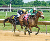 R Rousey winning at Delaware Park on 7/16/16