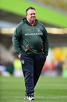 Leicester Tigers Head Coach Matt O'Connor looks on during the pre-match warm-up. Aviva Premiership match, between Leicester Tigers and Exeter Chiefs on September 30, 2017 at Welford Road in Leicester, England. Photo by: Patrick Khachfe / JMP
