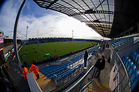 A general view of Sandy Park, home of Exeter Chiefs<br /> <br /> Photographer Bob Bradford/CameraSport<br /> <br /> European Rugby Heineken Champions Cup Pool 2 - Exeter Chiefs v Castres - Sunday 13th January 2019 - Sandy Park - Exeter<br /> <br /> World Copyright &copy; 2019 CameraSport. All rights reserved. 43 Linden Ave. Countesthorpe. Leicester. England. LE8 5PG - Tel: +44 (0) 116 277 4147 - admin@camerasport.com - www.camerasport.com