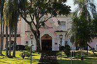 FOZ DO IGUAÇU, PR, 19.04.2018 – CATARATAS DO IGUAÇU - Fachada do Hotel Cataratas localizado no Parque Nacional do Iguaçu na cidade de Foz do Iguaçu (PR) na manhã desta quinta-feira (19).(Foto: Paulo Lisboa/Brazil Photo Press)