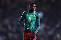 Banana Yaya of Cameroon and Panionios during Brazil vs Cameroon, International Friendly Match Football at stadium:mk on 20th November 2018