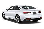 Car pictures of rear three quarter view of 2020 Audi A5-Sportback Premium-plus 5 Door Hatchback Angular Rear