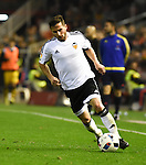 Valencia's  Pablo Piatti  during Spain King Cup match. December 16, 2015. (ALTERPHOTOS/Javier Comos)