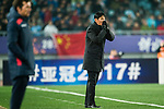 Jiangsu FC Head Coach Choi Yong Soo during the AFC Champions League 2017 Group H match between Jiangsu FC (CHN) vs Adelaide United (AUS) at the Nanjing Olympics Sports Center on 01 March 2017 in Nanjing, China. Photo by Marcio Rodrigo Machado / Power Sport Images