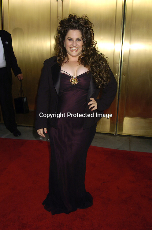 Marisa Jaret Winoker ..arriving at the 59th Annual Tony Awards on June 5, 2005 at ..Radio City Music Hall. ..Photo by Robin Platzer, Twin Images