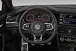 Car pictures of steering wheel view of a 2019 Volkswagen Jetta GLI-S 4 Door Sedan