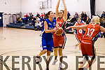 Garveys Tralee in action against Oblate Dynamos at Mounthawk Gym on Saturday night.