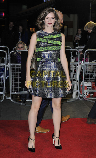 LONDON, ENGLAND - OCTOBER 18: Sai Bennett attends the &quot;Face Of An Angel&quot; official screening, 58th LFF day 11, Odeon West End cinema, Leicester Square, on Saturday October 18, 2014 in London, England, UK. <br /> CAP/CAN<br /> &copy;Can Nguyen/Capital Pictures