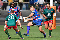 LEVIN, NEW ZEALAND - OCTOBER 28: Willie Paia&rsquo;aua of Horowhenua Kapiti in action during  the Lochore Cup Final match between Horowhenua Kapiti and Wairarapa Bush at Levin Domain on October 28, 2018 in Levin, New Zealand. Photo by Masanori Udagawa. <br /> www.photowellington.photoshelter.com