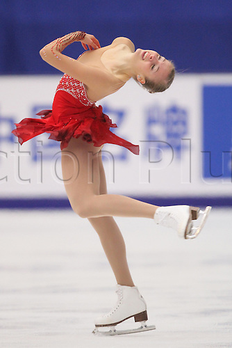 Carolina Costner (ITA), OCTOBER 30, 2009 - Figure Skating : ISU Grand Prix of Figure Skating 2009/2010, 2009 Skate China Women's Short Program at Capital Indoor Stadium, Beijing, China. Photo by Akihiro Sugimoto/Actionplus. UK Licenses Only.