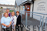 KEEP OUR DOORS OPEN: Shanakill Family Resource Centre are appealing to everyone in Tralee to help them to fundraise or the centre could face closure. Pictured were: Bernie O'Carroll (Project co-ordinator), Junior Locke (development Worker), carmel O'Regan (childcare co-ordinator) and Bernie O'Sullivan (Administration).